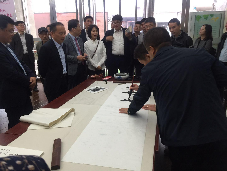 韩国访问团抵达陕西,深度调研所依英超直播网站平台