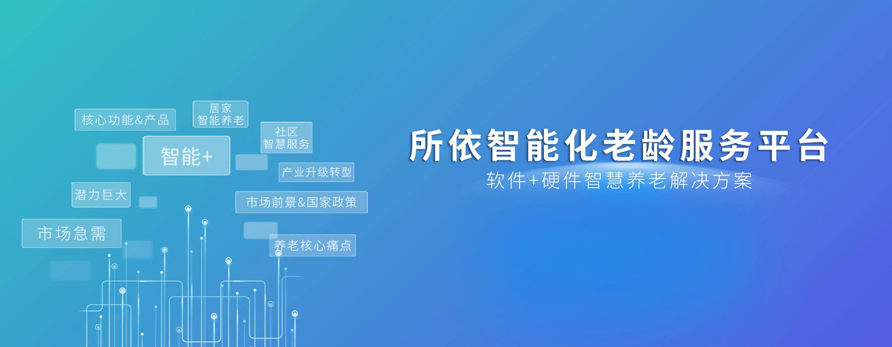 PEO項目介紹_藍創科技,智慧養老